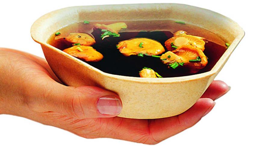 Füllett, die essbare Suppenschale als ökologische Alternative