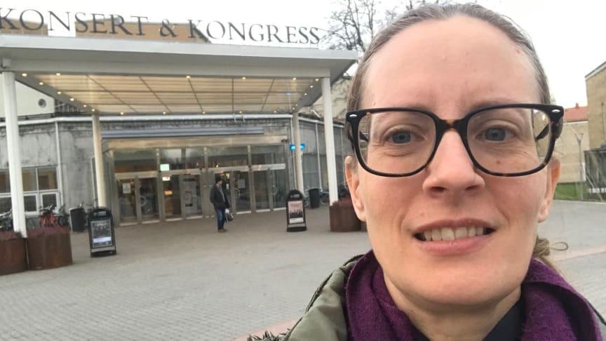 Frida Tiberini, EU-samordnare i Sjöbo och Tomelilla kommun, projektledare för förstudien