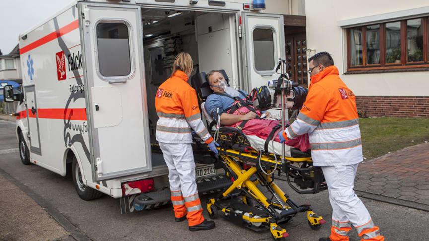 Falck extends ambulance services in Potsdam-Mittelmark