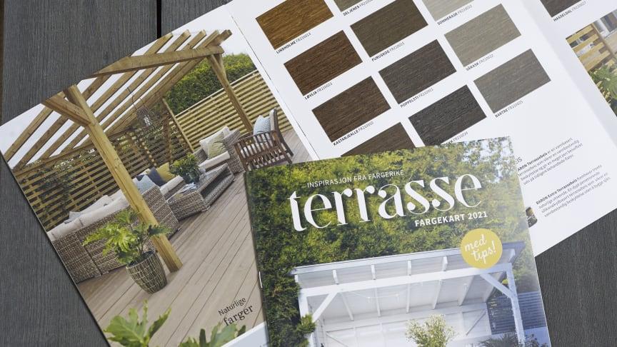 Terrassetid: nytt fargekart til sommeren 2021, med masse inspirasjon fra Fargerike.