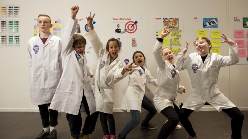 Kidzdesignlab er en serie med produkter designet av og for barn. Foto: Kidzdesignlab/Unikia