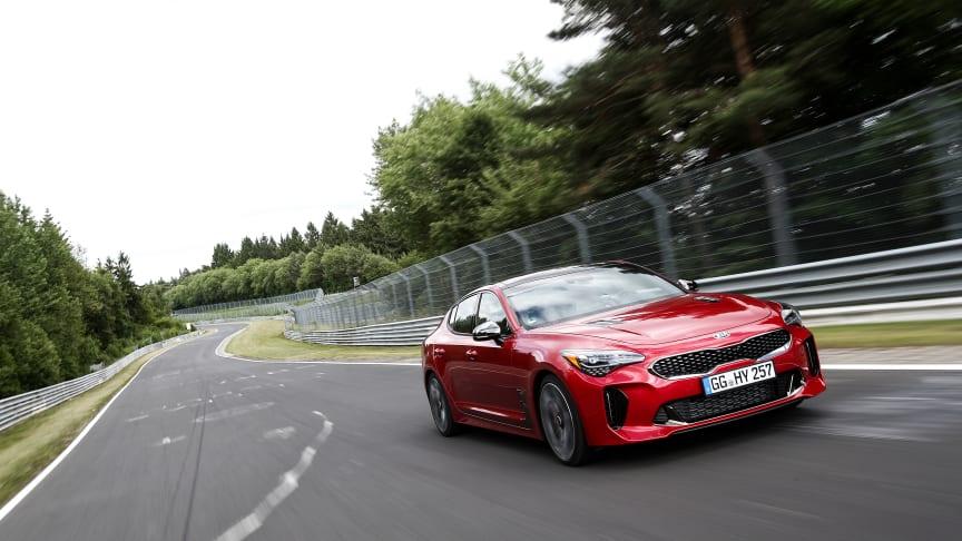 Hver enkelt Stinger prototype har kørt 480 testomgange svarende til 10.000 km på Nürburgring.