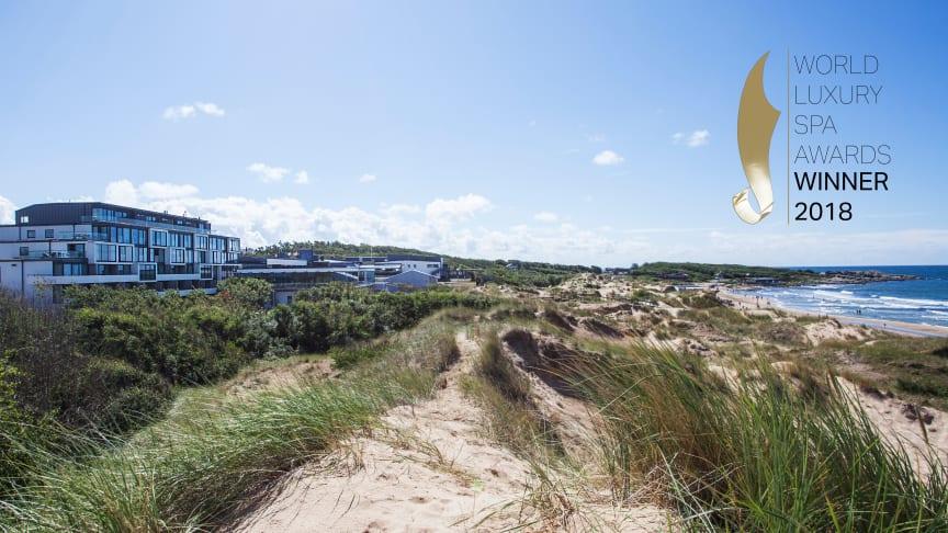 Hotel Tylösand utsett till norra Europas bästa hotell för spa och konferens