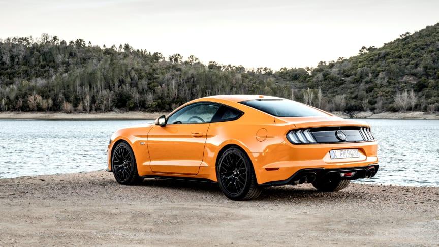 Femte år i træk: Mustang fejrer fødselsdag som verdens bedst sælgende sportsvogn