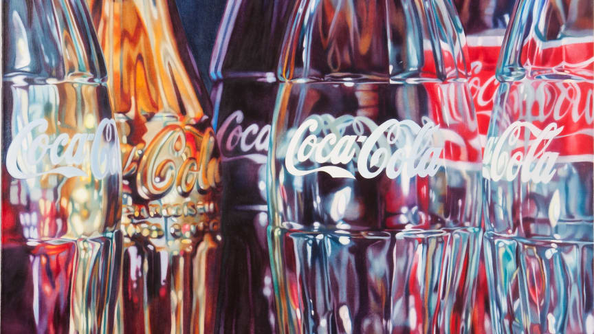 Kate Brinkworthin Coca-Cola-taideteos
