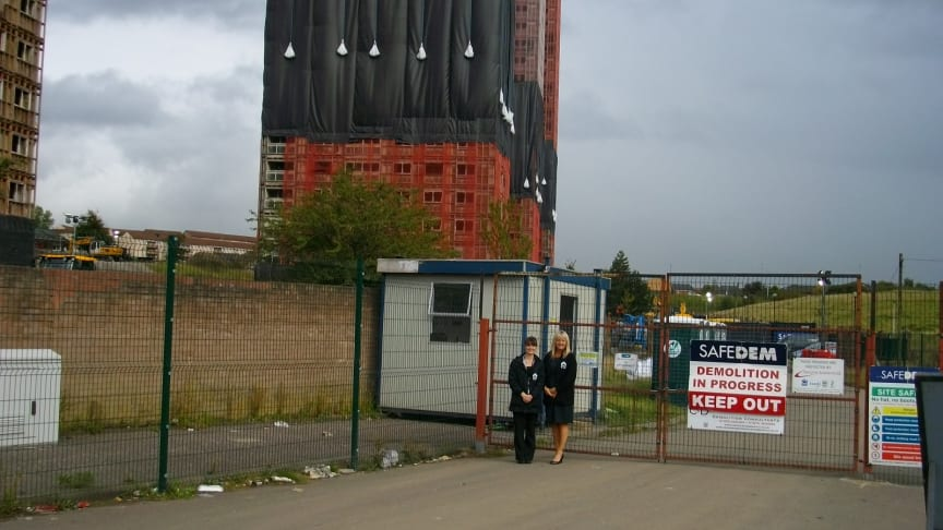 Help at hand for residents as Red Road Flats Demolished