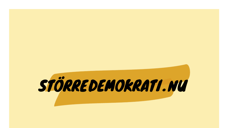 Störredemokrati.nu mobiliserar över 650.000 unga för att sänka rösträttsåldern