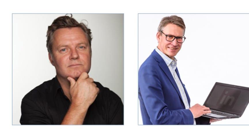 Föreläsarna under Partnerdagen i Göteborg den 27 mars 2017 - Johan Stael von Holstein, Olle Leckne och Annika Lidne.