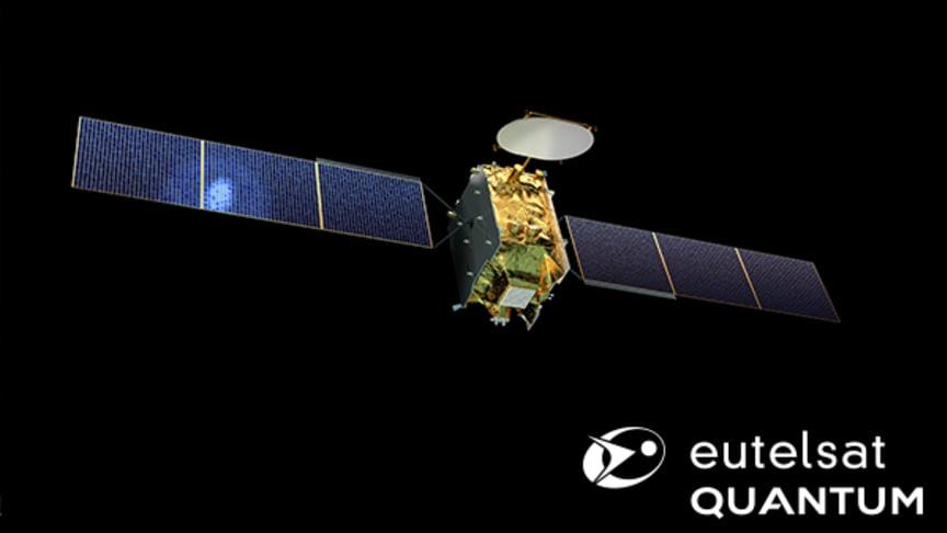 Eutelsat crée une innovation de rupture avec « Eutelsat Quantum », un nouveau concept de satellite paramétrable par logiciel