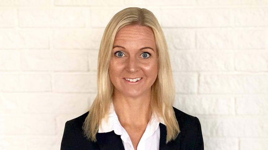 Annelie Forsberg tiltrer stillingen som CFO og tar plass i NetOnNets og SIBAs konsernledelse med oppstart 16. januar. (Foto: Maria Härdner)