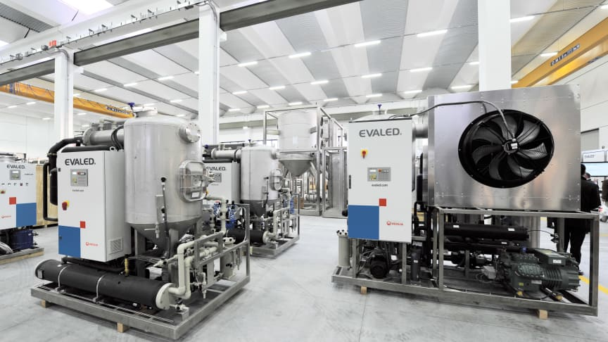 Die EVALED®-Verdampfer bieten vielfältige Einsatzgebiete; Quelle: Veolia Water Technologies