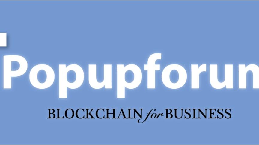 BLOCKCHAIN for BUSINESS (Popupforum)