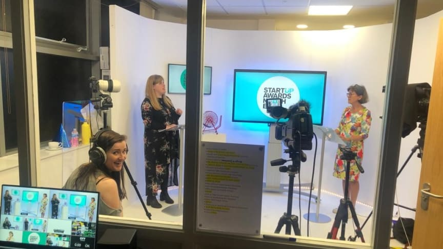 Startup Awards North East provided an opportunity for new business owners to pitch for support and build their professional networks.