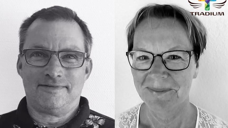 Jørgen Kroer og Anne-Grete Jensen er nye ansigter på Tradium.