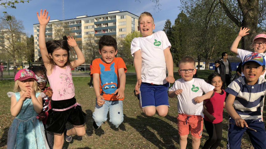 En Frisk Generation ger fler barn en aktiv fritid med hjälp av Postkodstiftelsen