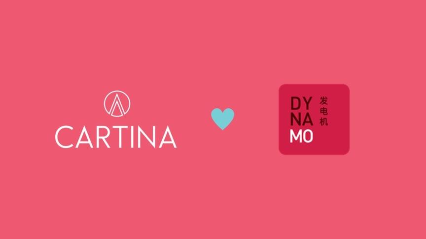 Spännande samarbete mellan Cartina och Dynamo avslöjas!