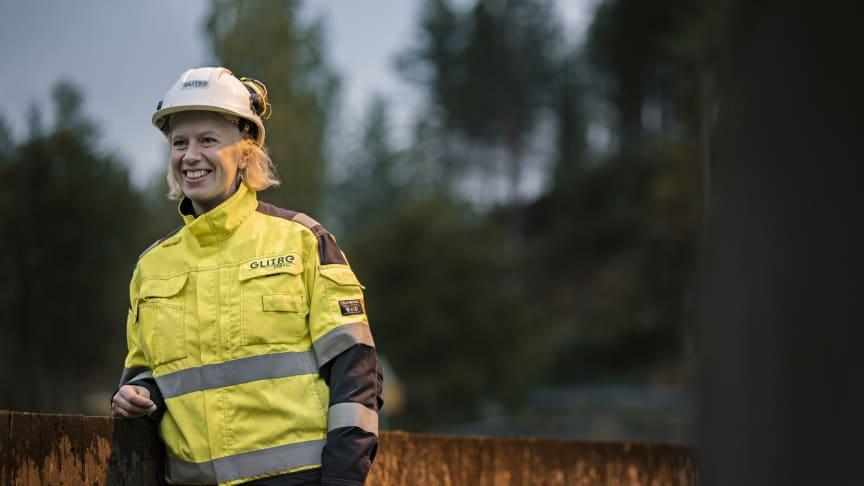 Line Drange Ruud (34) er ny kraftverkssjef i Glitre Energi Produksjon