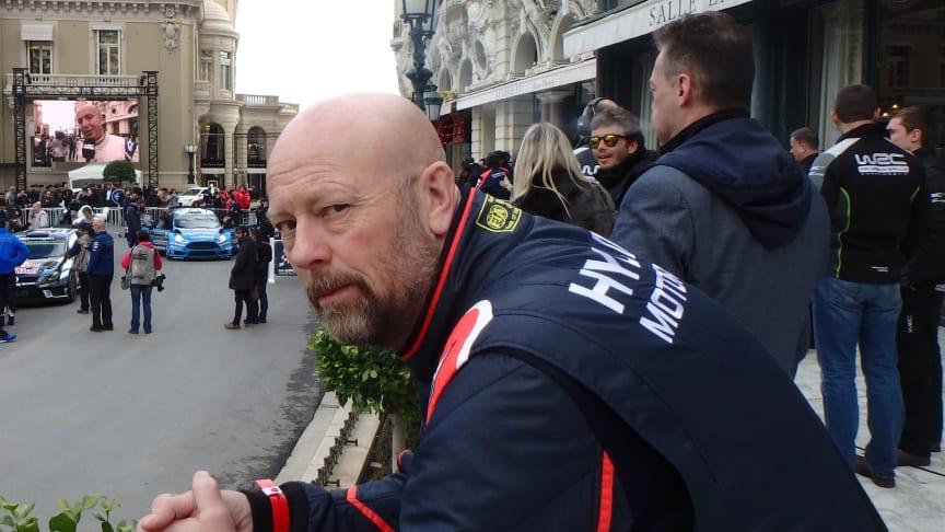 Geir Schau fikk luftet seg i Monaco