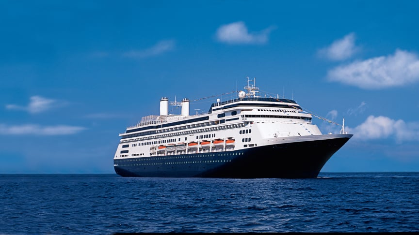 Fred. Olsen Cruise Lines' fleet is now complete with  arrival of new ship Bolette in Rosyth