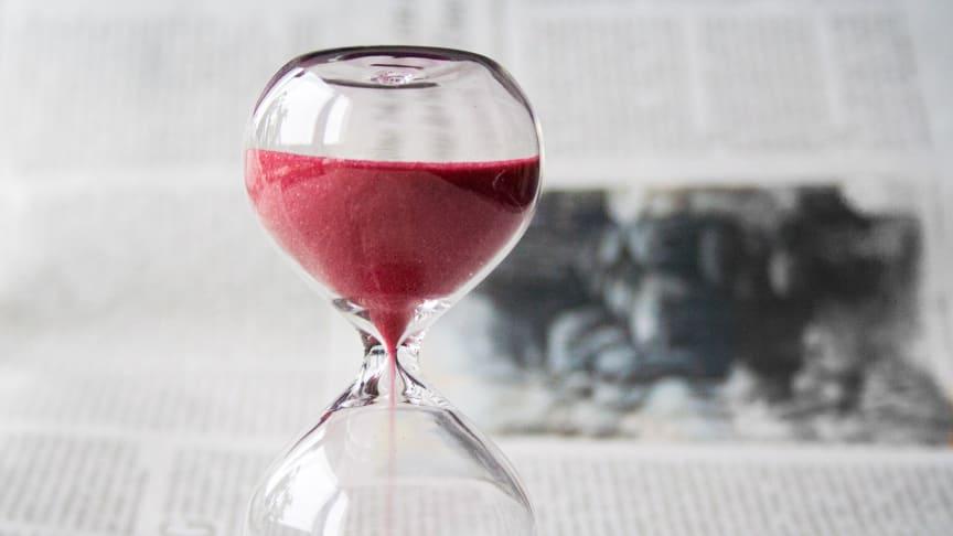 Tiden håller på att rinna ut för Sveriges hotell, spa, restauranger och mötesanläggningar.