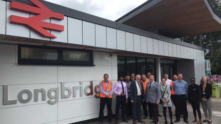 Passengers benefit from major transformation of Longbridge station