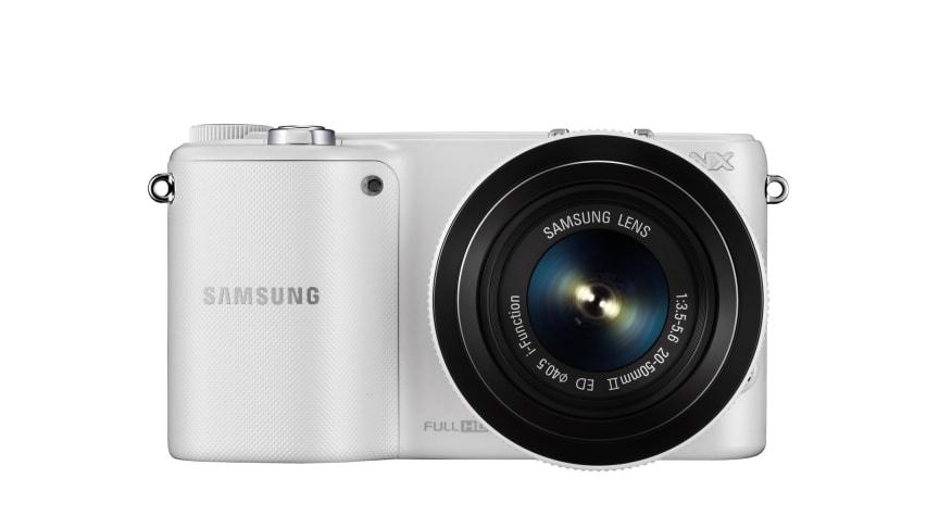Samsungs nye kompakte systemkamera med NFC