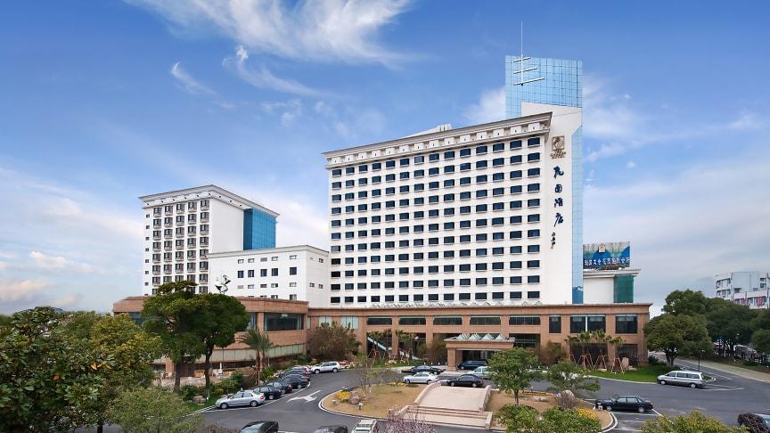 """In China ist das vierte Maritim Hotel eröffnet worden. Taicang gilt als innovative Wachstumsregion und ist offizielle """"chinesisch-deutsche Basis für Unternehmenskooperationen"""" ."""