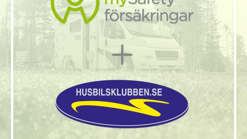 mySafety Försäkringar i samarbete med Husbilsklubben