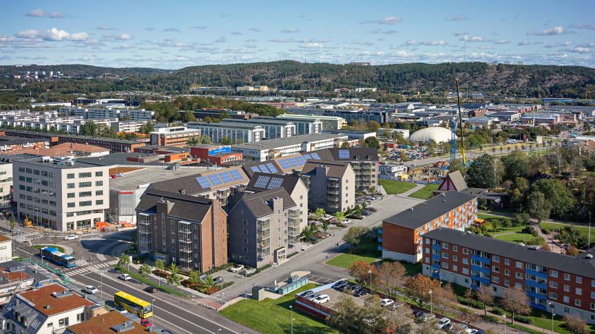Pressinbjudan: Riksbyggen tar första spadtaget för 145 lägenheter i Selma stad, Göteborg