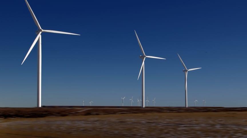 Under 2019 och 2020 genomförs omfattande investeringar i vindkraft.