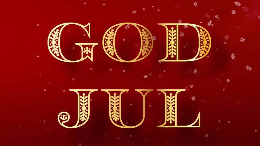 God Jul - med vår kluckande rimstuga!