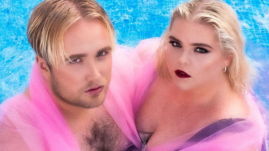 Johanna Nordström och Edvin Törnblom släpper improvisationspodden 'Hallå?'