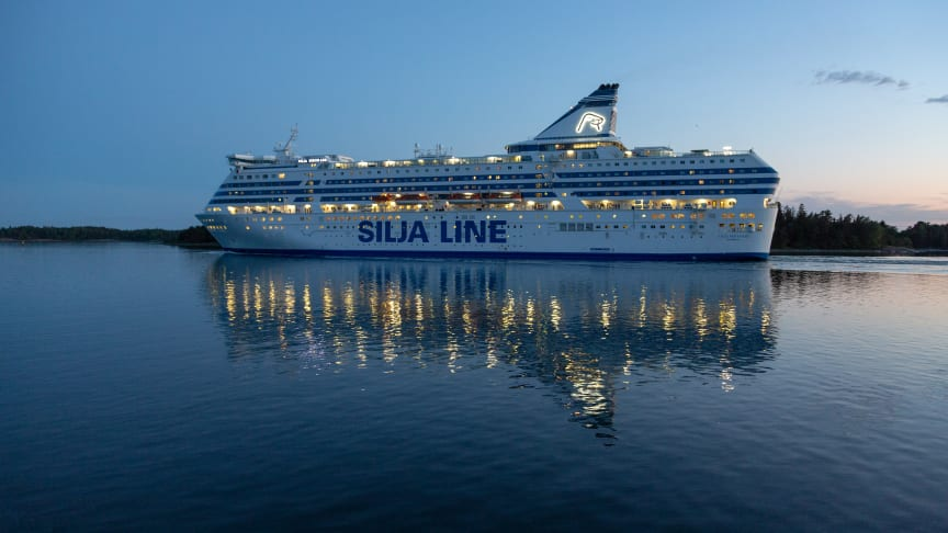 Fartyg Silja Serenade. Foto: Marko Stampehl