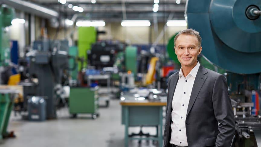 Ola Tengroth, CEO, Lesjöfors
