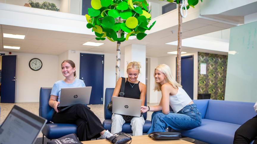 Thoren Business School i Örebro har flyttat in i sina nya lokaler.