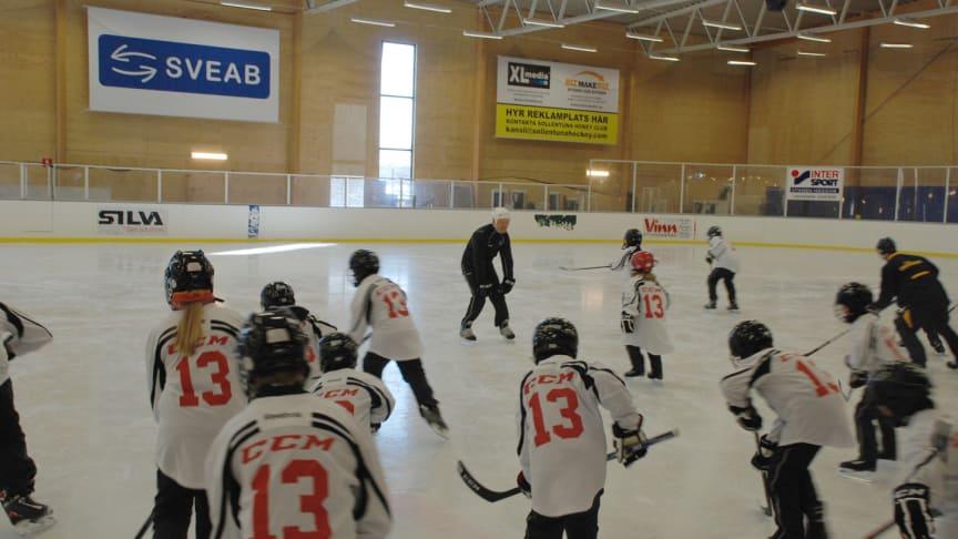 "CCM Hockey i samarbete med Mats Sundin ""Hall of Fame camp"" i Sollentuna"