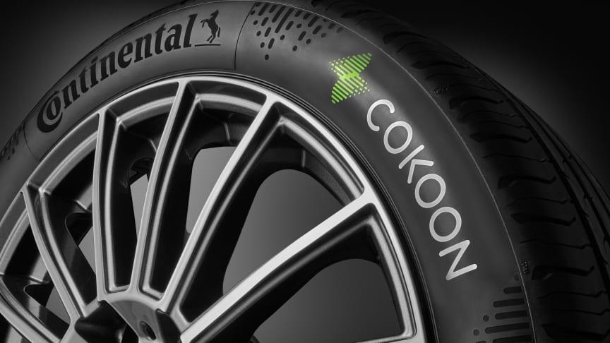 Continental og Kordsa sender den første serien av dekk med Cokoon-dyppingsteknologi ut på veien