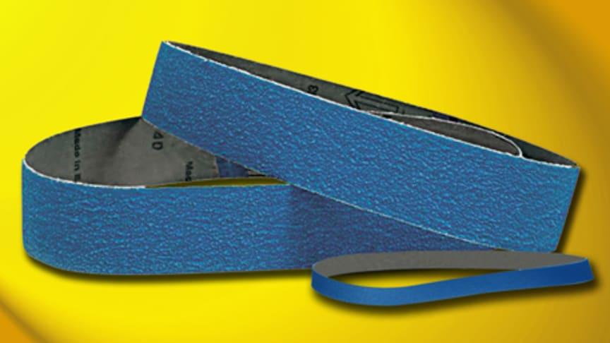 Effektivare bandslipning av metall med Flexovit SY674