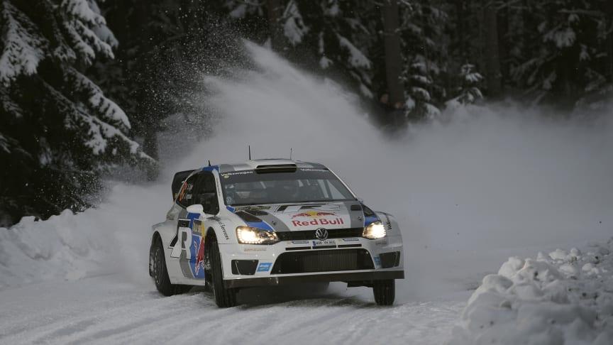Volkswagen satsar på seger i Rally Sweden