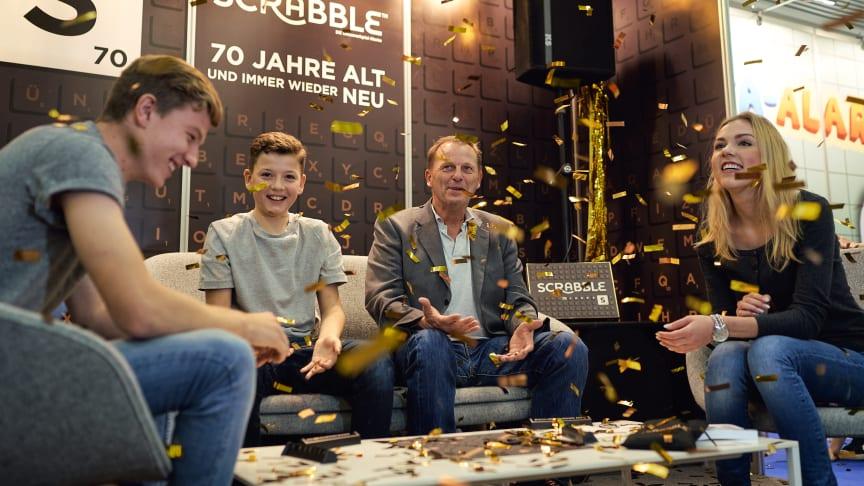 Mattel Games - Spiel Essen 18: 70 Jahre Scrabble!