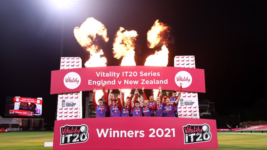 England won the series 2-1. Photo: Getty Images