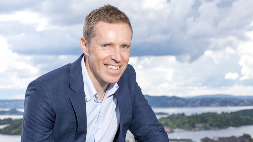 BRED HORISONT. Eirik Haslestad har lang erfaring både fra Luftforsvaret og konsulentverden. Nå skal han videreutvikle konsulenter i Sopra Steria.