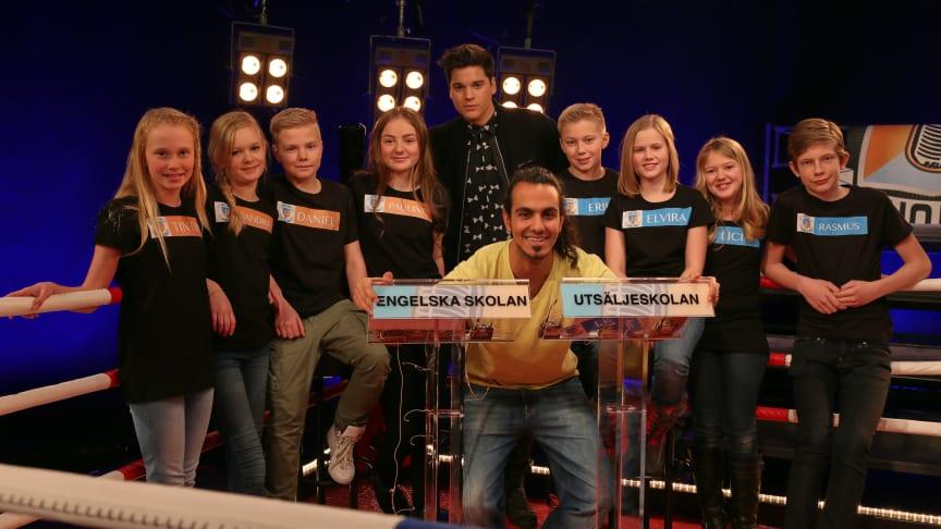 Retorikfinal för sjätteklassarna med bästa snacket