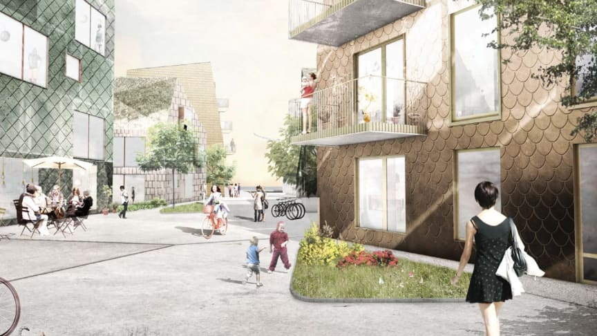 Riksbyggen förvärvar byggrätt för 250 bostäder i ny ungdomssatsning vid Lindholmshamnen
