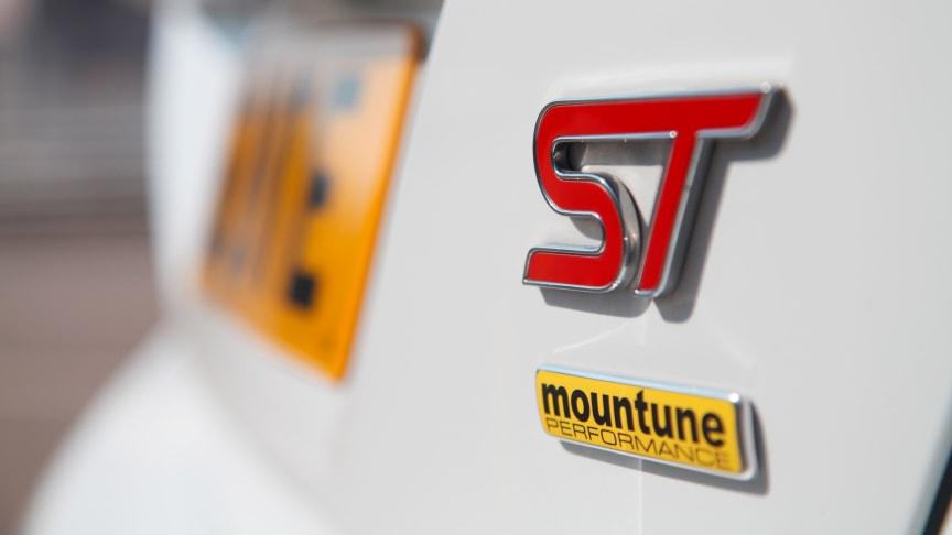 Fordilta Mountune-tehopäivitykset Focus ST:hen ja Fiesta ST:hen