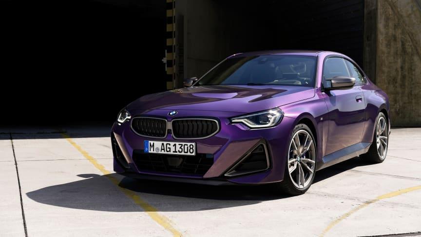 Helt nya BMW 2-serie Coupé