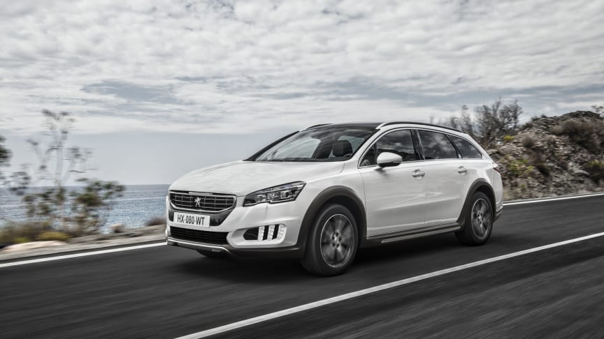 Sverigepremiär för ny generation av Peugeot 508