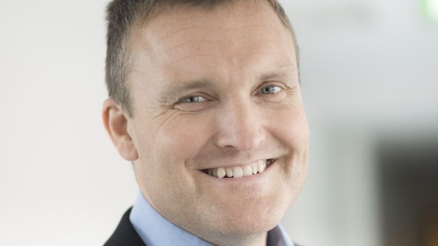 Chris Guldbeg (45) blir ny kommunikasjonsdirektør i Sjømatrådet. Foto: Sintef, Thor Nielsen