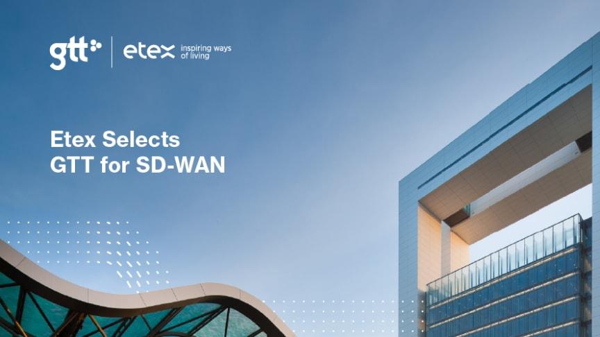 Etex väljer GTT för SD-WAN