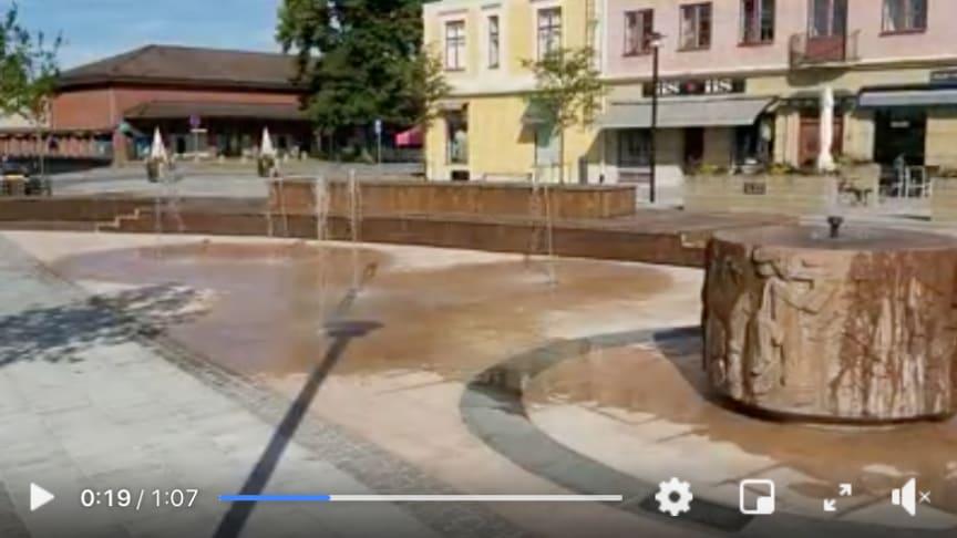 Kulturarvet Brunnskaret i Lindesberg nu på ny plats i Flugparken